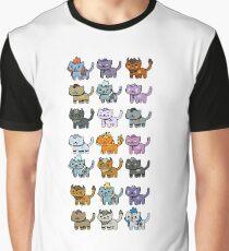 Neko Atsume Feral Druid Todos Graphic T-Shirt