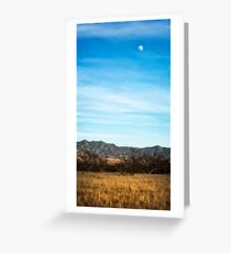 apache moon Greeting Card