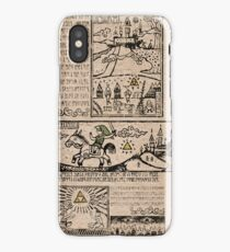 Hero of Time Tapestries iPhone Case
