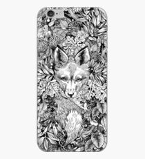 Hiding fox iPhone Case