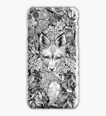 Hiding fox iPhone Case/Skin