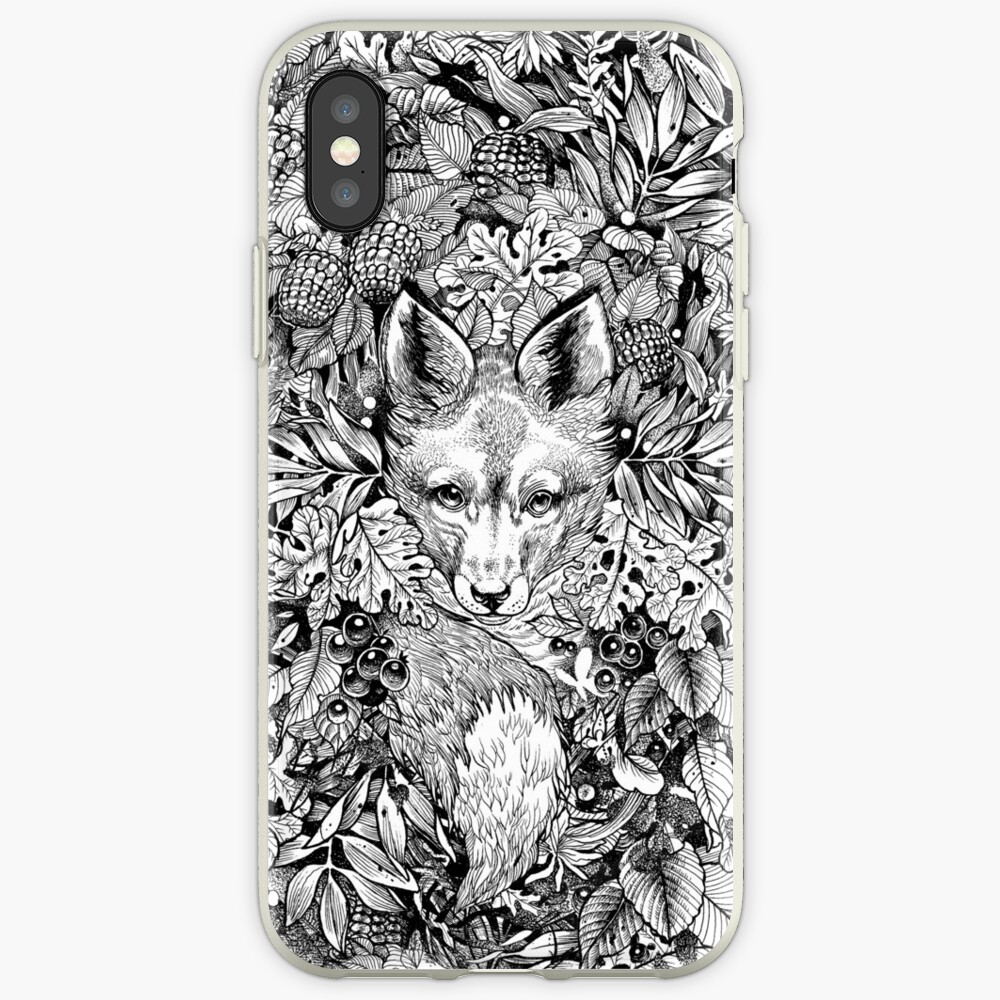 Fuchs verstecken iPhone-Hülle & Cover