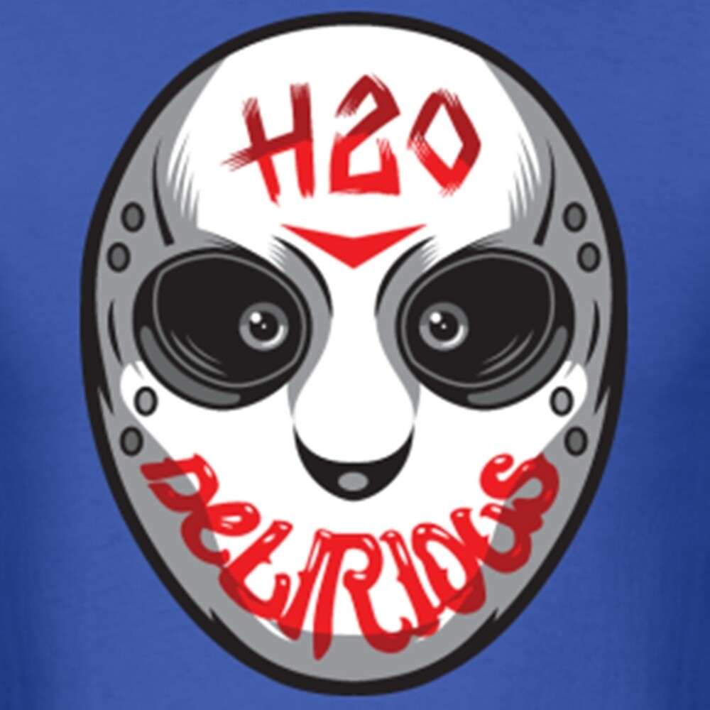 """H20 Delirious Hockey Mask"" by Emmiddaugh 