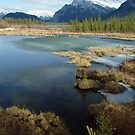 Banff lakes by aerdeyn