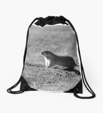 Chester the Prairie Dog Drawstring Bag