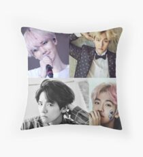 Baekhyun Collage Throw Pillow