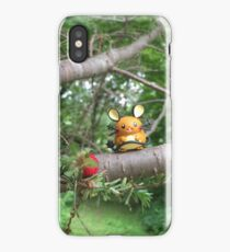 A Wild Dedenne Appears! iPhone Case