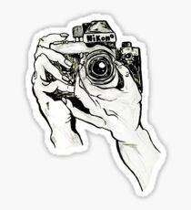 Tumblr Camera Hands Sticker