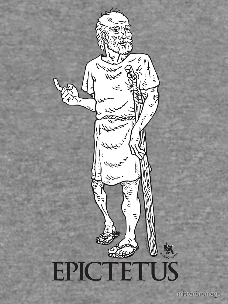 Epictetus from A Man of Letters edition of The Enchiridion by misterbrumage