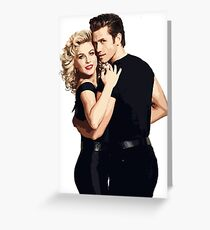 Grease Live Duo Greeting Card