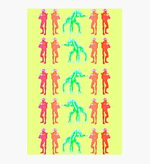 Dancing Robots Photographic Print