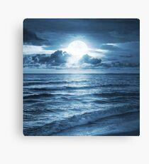 On Ocean Canvas Print