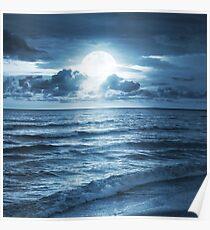 On Ocean Poster