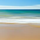 Beach Abstract by Glenda Williams