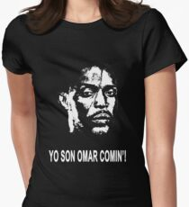 Omar Comin' Women's Fitted T-Shirt
