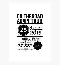 25th August - Miller Park OTRA Photographic Print