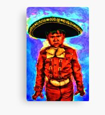 The Angry Mariachi Canvas Print