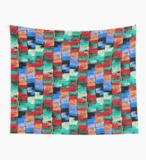 Crocheted Style Wall Tapestry