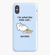 Neko Atsume - Tubbs (i'm what the kids call...terrible) iPhone Case/Skin