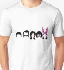Bobs Burgers Belcher Line Up T-Shirt