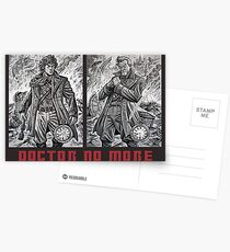 Doctor No More Postcards