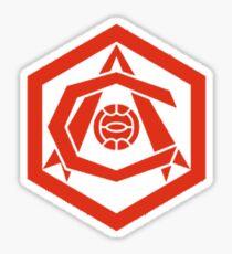 arsenal old logo Sticker
