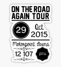 29th October - Motorpoint Arena OTRA Sticker
