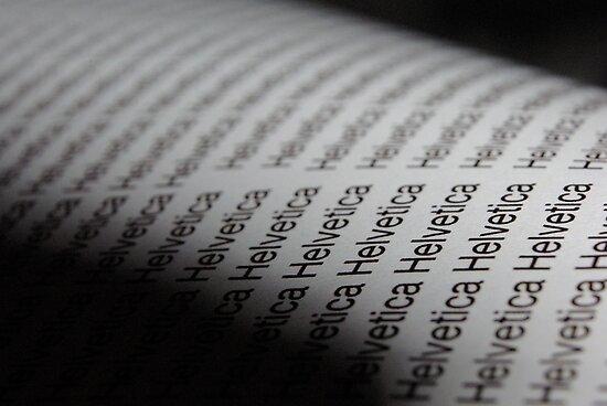 Helvetica, he wrote by Adm Ldn