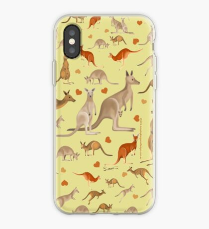 Kangaroo Heart iPhone Case