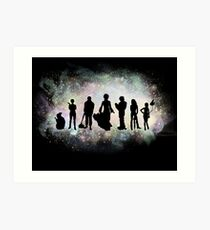 The Endless Silhouettes - Colorful Cosmos Art Print