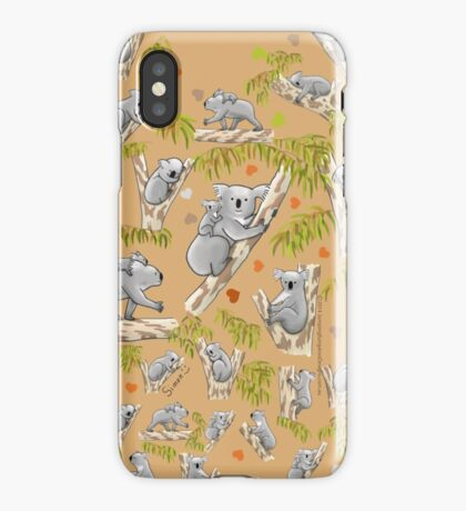 Koala Heart iPhone Case