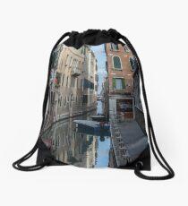 Venice Reflections Drawstring Bag