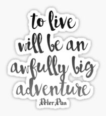 Big Adventure Sticker