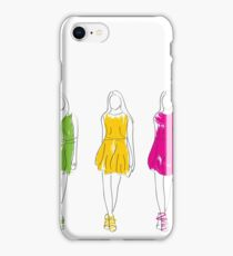 abstract fashion model iPhone Case/Skin