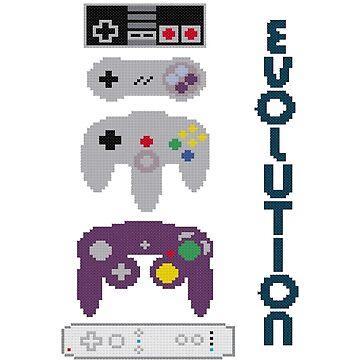 Nintendo Evolution by Titenono