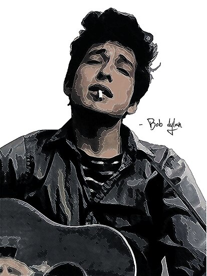 Bob Dylan by Elliott Butler