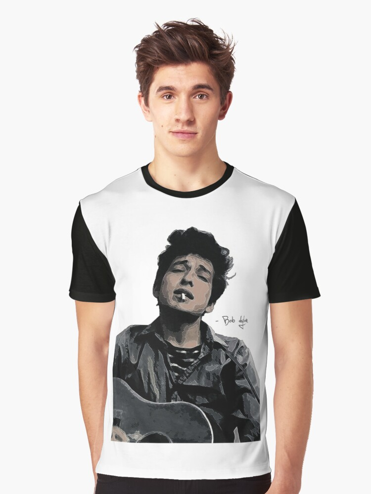 Bob Dylan Graphic T-Shirt Front