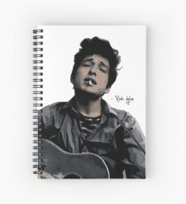 Bob Dylan Spiral Notebook