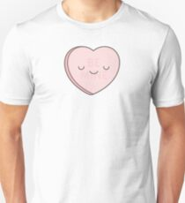 Pink Candy Heart Unisex T-Shirt