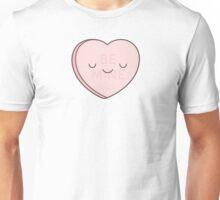Pink Candy Heart Unisex T-Shirt