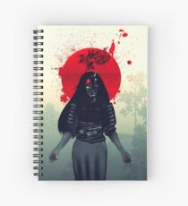 Hannya  Spiral Notebook