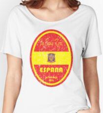 Euro 2016 Football - Espana Women's Relaxed Fit T-Shirt