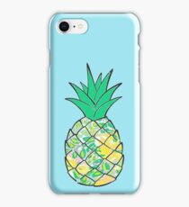 Lilly Pulitzer Printed Pineapple  iPhone Case/Skin