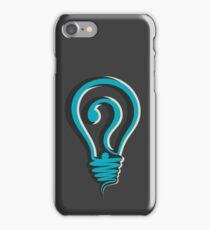 questioning design concept iPhone Case/Skin