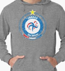 World Cup Football 7/8 - Team France (distressed) Lightweight Hoodie