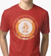 World Cup Football - Team Netherlands (distressed) Tri-blend T-Shirt