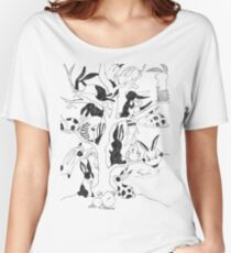 The Bunny Tree Women's Relaxed Fit T-Shirt