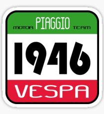 VESPA 1946 Sticker