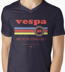 Vespa 46 Men's V-Neck T-Shirt
