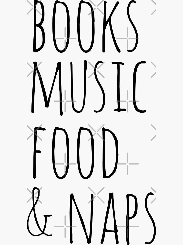 libros, música, comida y siestas de FandomizedRose